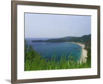 Beach on the Adriatic Coast, Near Budva, Montenegro, Europe-Graham Lawrence-Framed Photographic Print