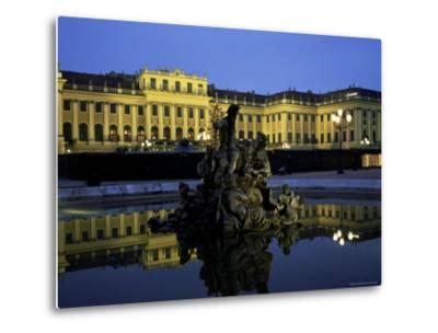 Schonbrunn Palace at Dusk, Unesco World Heritage Site, Vienna, Austria, Europe-Jean Brooks-Metal Print