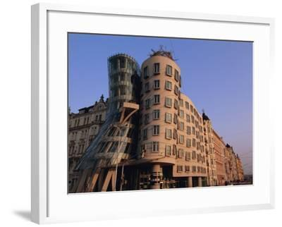Fred and Ginger Building, Prague, Czech Republic, Europe-Neale Clarke-Framed Photographic Print