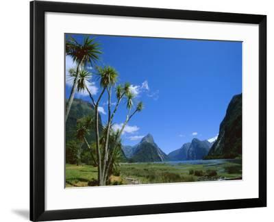 Mitre Peak, Milford Sound, Otago, South Island, New Zealand, Pacific-Neale Clarke-Framed Photographic Print