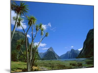 Mitre Peak, Milford Sound, Otago, South Island, New Zealand, Pacific-Neale Clarke-Mounted Photographic Print