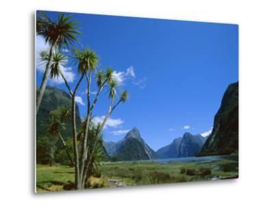 Mitre Peak, Milford Sound, Otago, South Island, New Zealand, Pacific-Neale Clarke-Metal Print