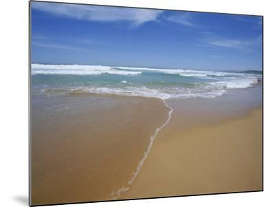 Sand and Surf, Waitpinger Beach, Fleurieu Peninsula, South Australia, Australia, Pacific-Neale Clarke-Mounted Photographic Print