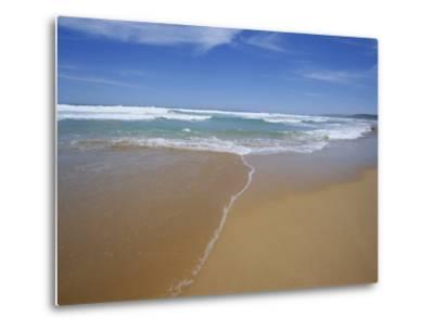 Sand and Surf, Waitpinger Beach, Fleurieu Peninsula, South Australia, Australia, Pacific-Neale Clarke-Metal Print