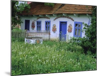 Painted House, Zalipie, Little Poland, Poland-Bruno Morandi-Mounted Photographic Print
