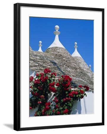 Alberobello, Typical Houses, Apulia (Puglia), Italy-Bruno Morandi-Framed Photographic Print