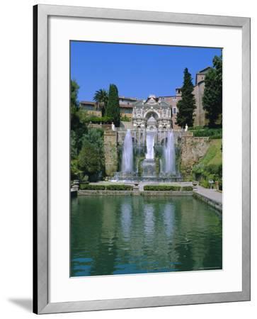 Villa d'Este, Tivoli, Lazio, Italy-Bruno Morandi-Framed Photographic Print