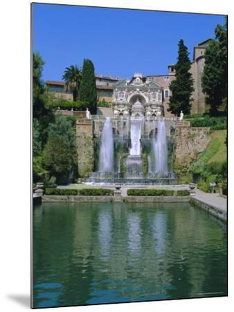 Villa d'Este, Tivoli, Lazio, Italy-Bruno Morandi-Mounted Photographic Print