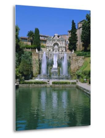 Villa d'Este, Tivoli, Lazio, Italy-Bruno Morandi-Metal Print