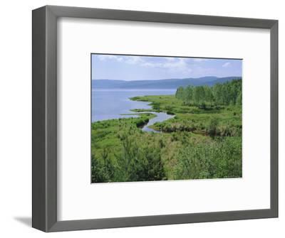 Listvianka, Lake Baikal, Siberia, Russia-Bruno Morandi-Framed Photographic Print