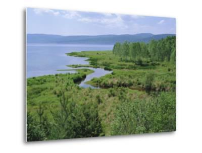 Listvianka, Lake Baikal, Siberia, Russia-Bruno Morandi-Metal Print