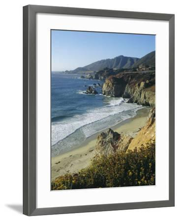 Ninety Miles of Rugged Coast Along Highway 1, California, USA-Christopher Rennie-Framed Photographic Print