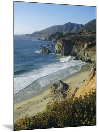 Ninety Miles of Rugged Coast Along Highway 1, California, USA-Christopher Rennie-Mounted Photographic Print