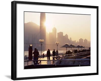 Avenue of Stars, Tsim Sha Tsui, Kowloon, Hong Kong, China-Amanda Hall-Framed Photographic Print