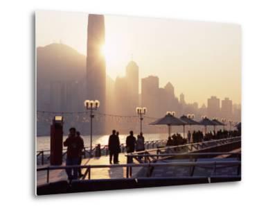 Avenue of Stars, Tsim Sha Tsui, Kowloon, Hong Kong, China-Amanda Hall-Metal Print