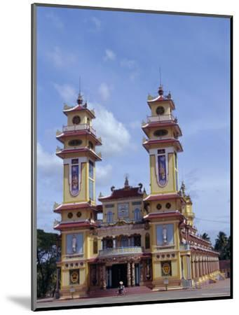 Cao Dai Temple, Synthesis of Three Religions, Confucianism, Vietnam, Indochina-Alison Wright-Mounted Photographic Print
