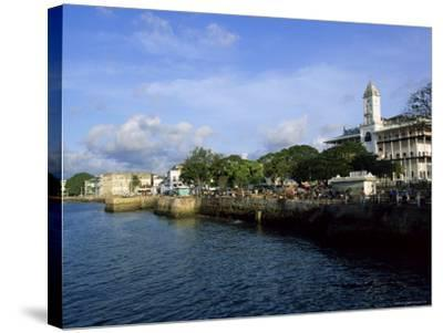 Stone Town, Island of Zanzibar, Tanzania, East Africa, Africa-Yadid Levy-Stretched Canvas Print