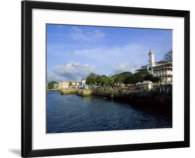 Stone Town, Island of Zanzibar, Tanzania, East Africa, Africa-Yadid Levy-Framed Photographic Print