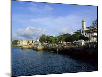 Stone Town, Island of Zanzibar, Tanzania, East Africa, Africa-Yadid Levy-Mounted Photographic Print