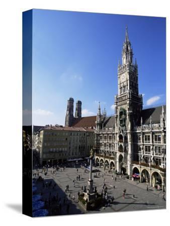 City Hall on Marienplatz, Munich, Bavaria, Germany, Europe-Yadid Levy-Stretched Canvas Print