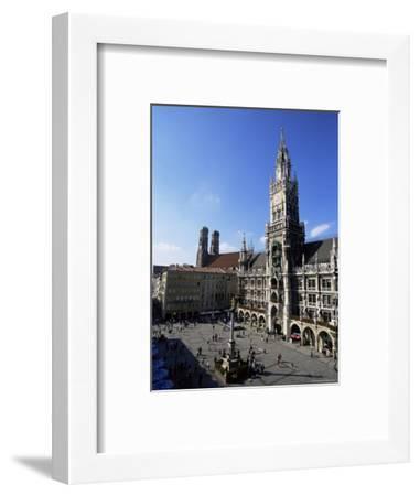 City Hall on Marienplatz, Munich, Bavaria, Germany, Europe-Yadid Levy-Framed Photographic Print