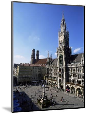 City Hall on Marienplatz, Munich, Bavaria, Germany, Europe-Yadid Levy-Mounted Photographic Print