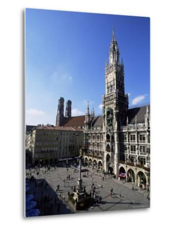 City Hall on Marienplatz, Munich, Bavaria, Germany, Europe-Yadid Levy-Metal Print