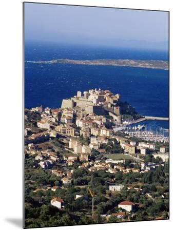 Citadel and Calvi, Corsica, France, Mediterranean, Europe-Yadid Levy-Mounted Photographic Print