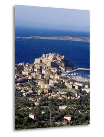 Citadel and Calvi, Corsica, France, Mediterranean, Europe-Yadid Levy-Metal Print
