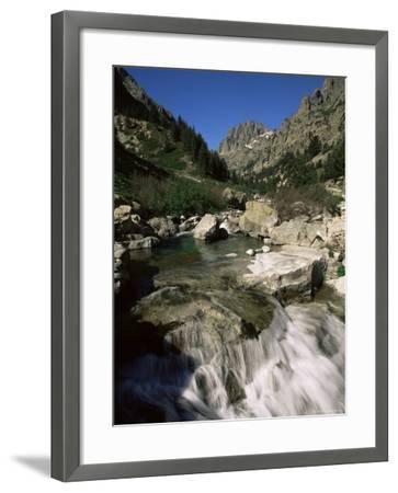Gorges De La Restonica, Bergeries De Grotelle, Corsica, France, Europe-Yadid Levy-Framed Photographic Print