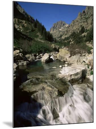 Gorges De La Restonica, Bergeries De Grotelle, Corsica, France, Europe-Yadid Levy-Mounted Photographic Print