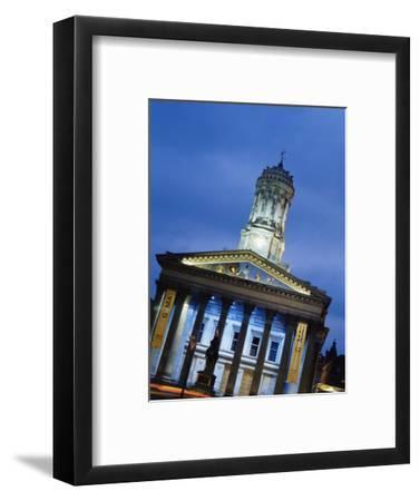 Glasgow Gallery of Modern Art, Glasgow, Scotland, United Kingdom, Europe-Yadid Levy-Framed Photographic Print