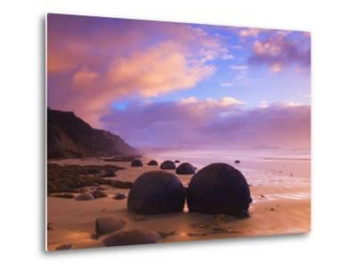 Moeraki Boulders, Moeraki, Otago, South Island, New Zealand, Pacific-Jochen Schlenker-Metal Print