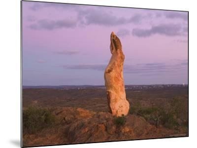 The Living Desert Sculptures, Broken Hill, New South Wales, Australia, Pacific-Jochen Schlenker-Mounted Photographic Print