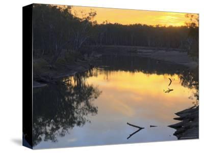 Murray River, Wahgunyah, Victoria, Australia, Pacific-Jochen Schlenker-Stretched Canvas Print