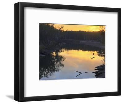 Murray River, Wahgunyah, Victoria, Australia, Pacific-Jochen Schlenker-Framed Photographic Print