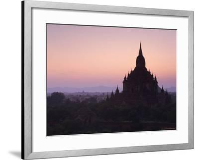 Sulamani Pahto, Bagan (Pagan), Myanmar (Burma), Asia-Jochen Schlenker-Framed Photographic Print