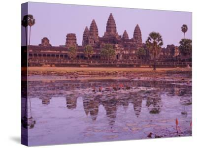Angkor Wat, Angkor, Unesco World Heritage Site, Siem Reap, Cambodia, Indochina, Southeast Asia Asia-Jochen Schlenker-Stretched Canvas Print