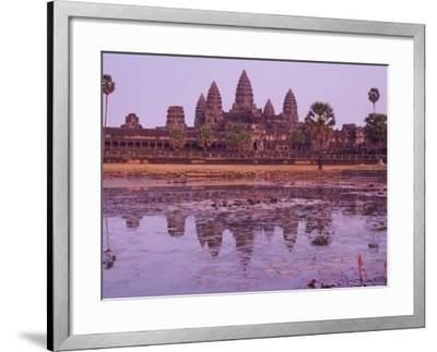 Angkor Wat, Angkor, Unesco World Heritage Site, Siem Reap, Cambodia, Indochina, Southeast Asia Asia-Jochen Schlenker-Framed Photographic Print