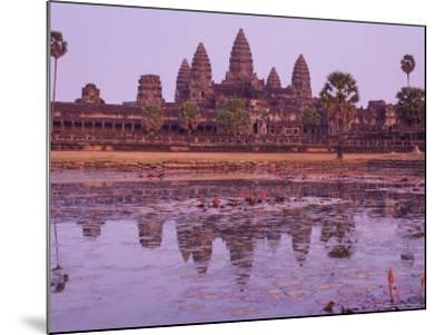 Angkor Wat, Angkor, Unesco World Heritage Site, Siem Reap, Cambodia, Indochina, Southeast Asia Asia-Jochen Schlenker-Mounted Photographic Print