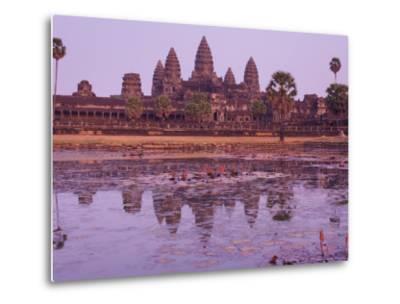 Angkor Wat, Angkor, Unesco World Heritage Site, Siem Reap, Cambodia, Indochina, Southeast Asia Asia-Jochen Schlenker-Metal Print