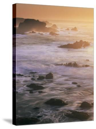 Seascape, Big Sur Coast, California, United States of America, North America-Colin Brynn-Stretched Canvas Print