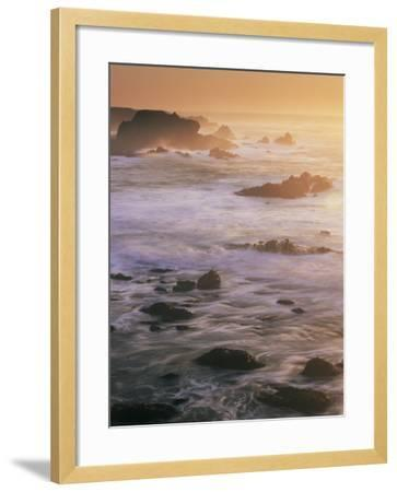 Seascape, Big Sur Coast, California, United States of America, North America-Colin Brynn-Framed Photographic Print