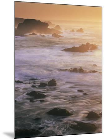 Seascape, Big Sur Coast, California, United States of America, North America-Colin Brynn-Mounted Photographic Print