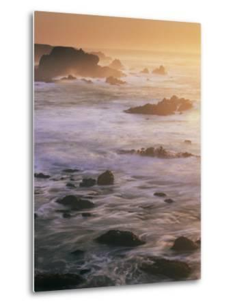 Seascape, Big Sur Coast, California, United States of America, North America-Colin Brynn-Metal Print