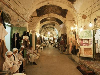 City Souq, Tripoli, Tripolitania, Libya, North Africa, Africa-Nico Tondini-Framed Photographic Print