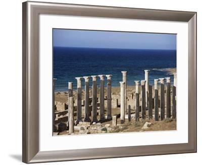 Eastern Basilica, Apollonia, Cyrenaica, Libya, North Africa, Africa-Nico Tondini-Framed Photographic Print
