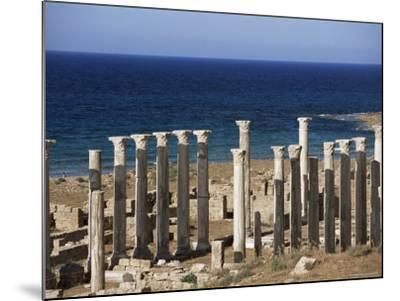 Eastern Basilica, Apollonia, Cyrenaica, Libya, North Africa, Africa-Nico Tondini-Mounted Photographic Print