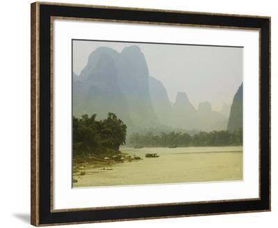 Yangshuo, Li River, Guangxi Province, China, Asia-Angelo Cavalli-Framed Photographic Print