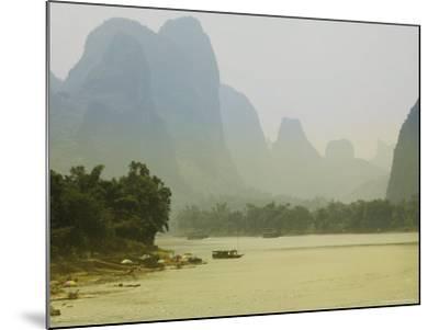 Yangshuo, Li River, Guangxi Province, China, Asia-Angelo Cavalli-Mounted Photographic Print